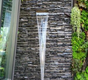 waterfall wall ledgestone