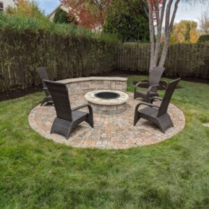 picture of circular firepit
