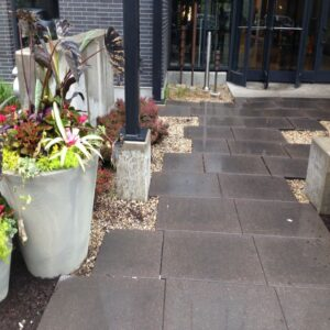picture of paver tile walkway