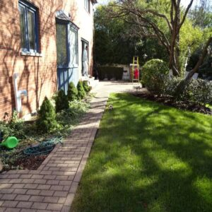 picture of paved walkway